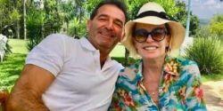 Ana Maria Braga termina casamento com francês Johnny Lucet